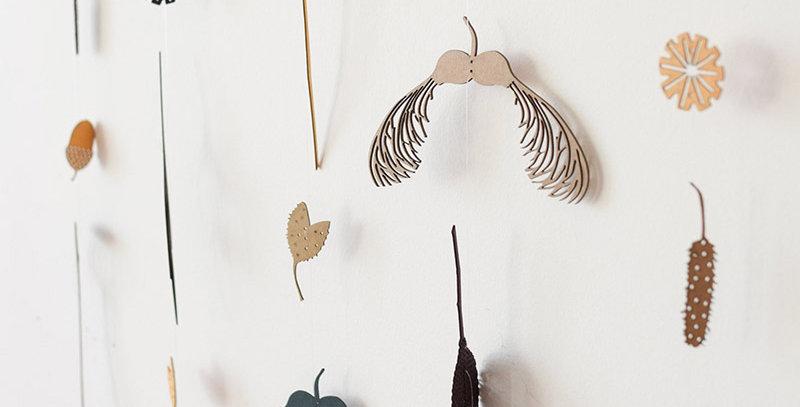 tiny treasures hanging decoration - by Hannah Nunn