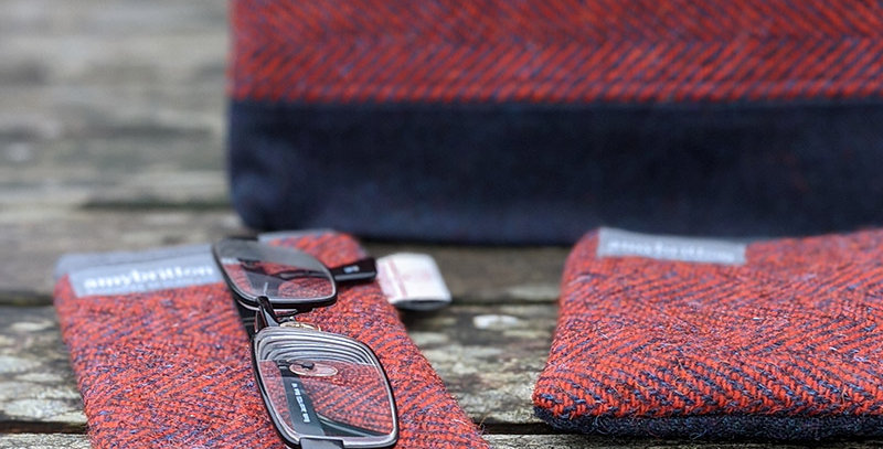 Harris Tweed accessories by Amy Britton