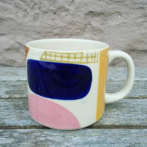large stoneware mug - by Donna Wilson