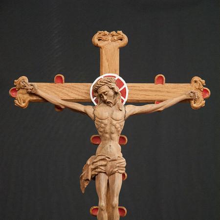 Richards Castle Processional Crucifix