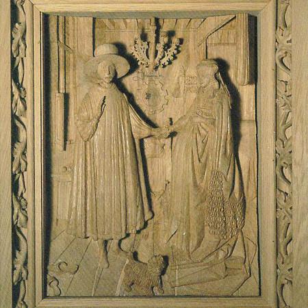 Van Eyck's Arnolfini Marriage
