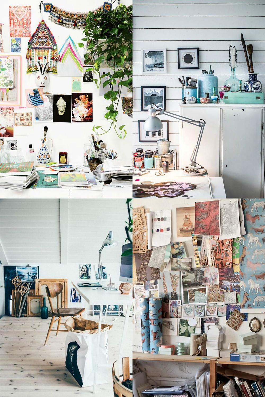 Dreamy Creative Spaces