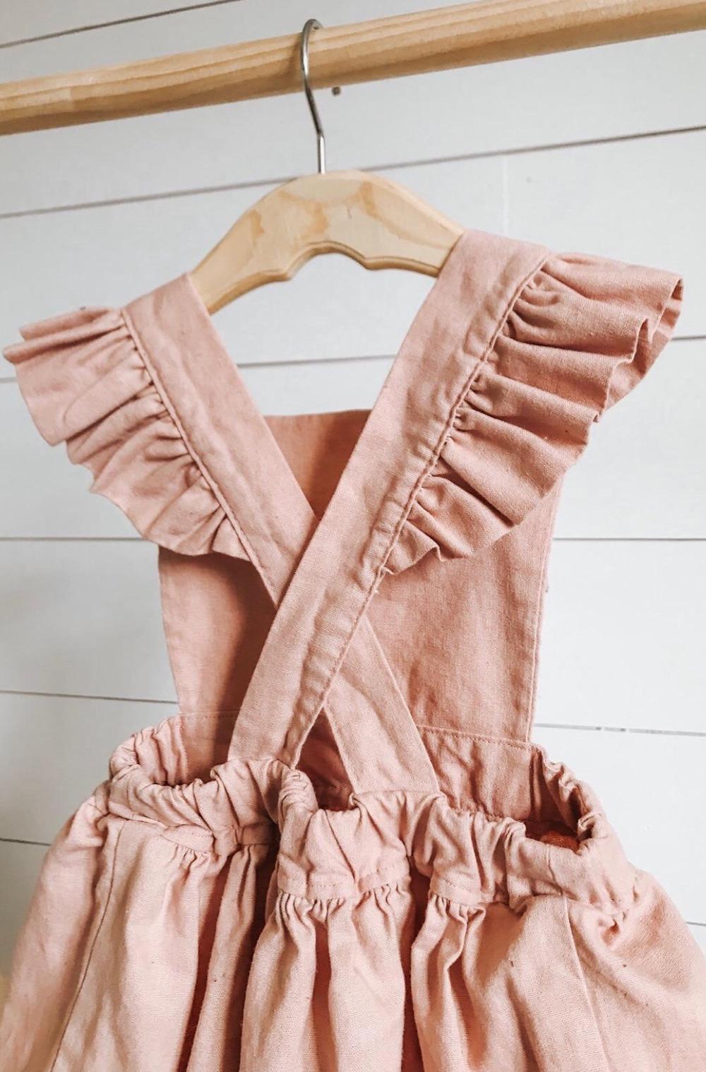 Talia & Co beautiful handmade linen babies and kids dresses & clothing