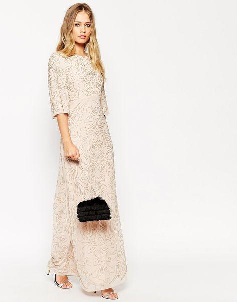 boho vintage maxi dress
