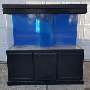 125 Gallon Aquarium, Stand & Canopy