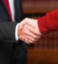 Civil handshake