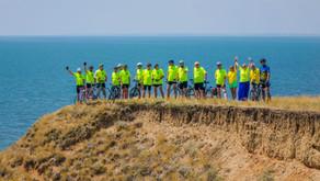 Велопробіг литовців Півднем України