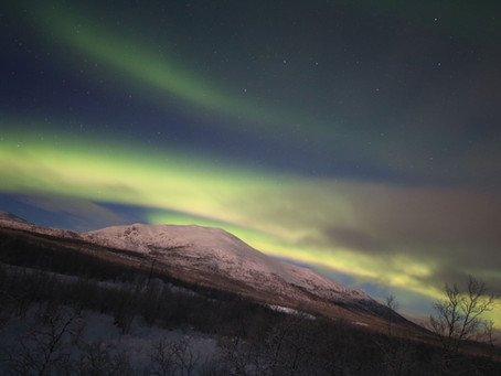 Finalmente, a Aurora Boreal