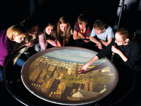 Edimburgo, Camera Obscura e Harry Potter