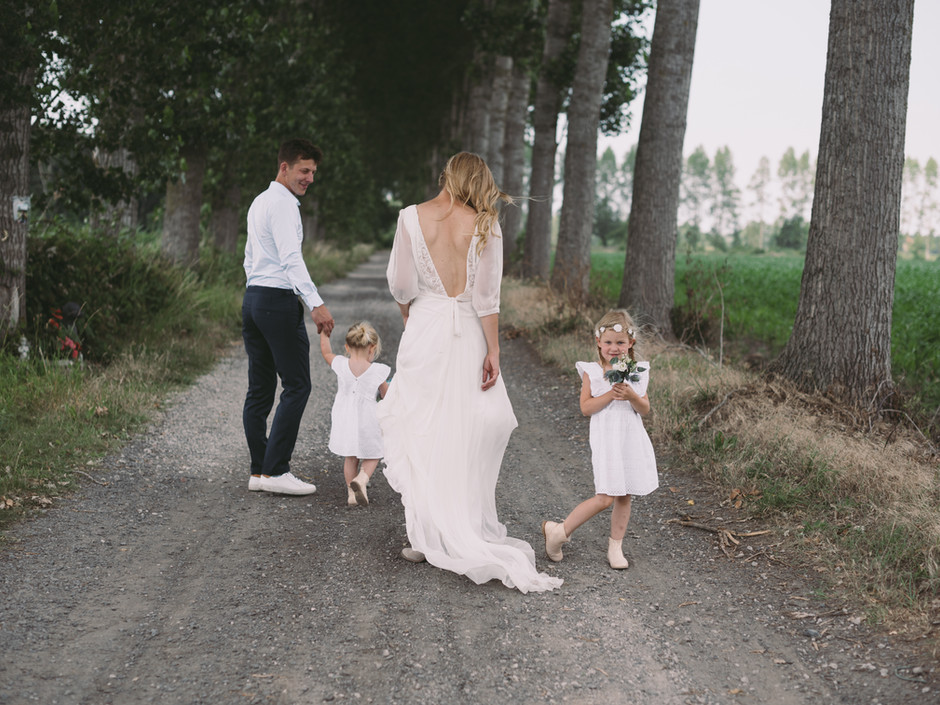 Huwelijk in Wondelgemse tuin│Fien & David