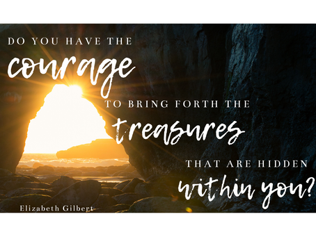Finding Courage. Living the Life God Intended.