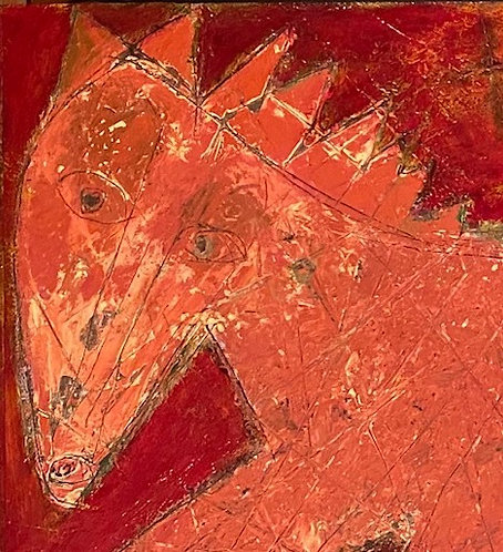 """The Red Pony, 29"""" x 58"""""""