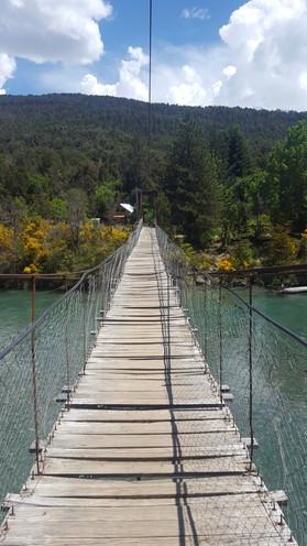 pasarela rio azul