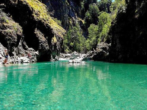 el paraiso rio azul