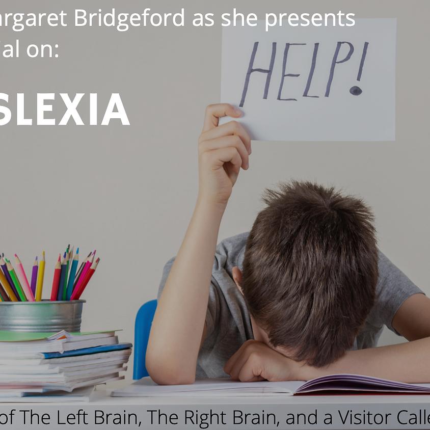A tutorial on Dyslexia with Margaret Bridgeford