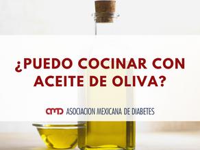 ¿Puedo cocinar con aceite de oliva?