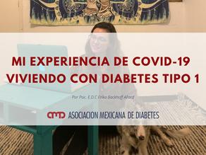 MI EXPERIENCIA DE COVID-19 VIVIENDO CON DIABETES TIPO 1