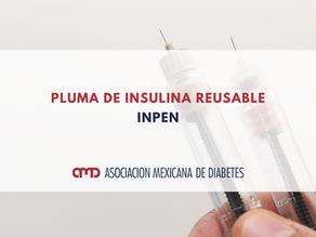 PLUMA DE INSULINA REUSABLE