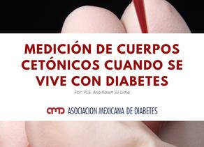 Medición de cuerpos cetónicos cuando se vive con diabetes
