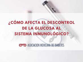 ¿Cómo afecta el descontrol de la glucosa al sistema inmunológico?