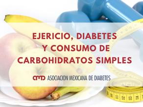 Ejercicio, diabetes y consumo de carbohidratos simples