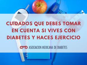 Cuidados al hacer ejercicio viviendo con diabetes