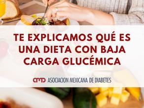 Dieta con baja carga glucémica