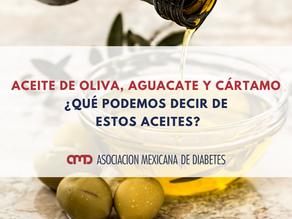 Aceite de oliva, aguacate y cártamo