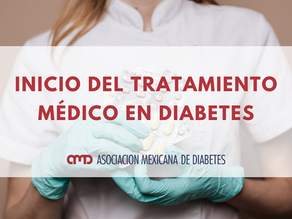 Inicio del tratamiento médico en diabetes