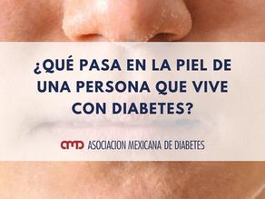 ¿Qué pasa en la piel de una persona que vive con diabetes?