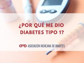 ¿Por qué me dio diabetes tipo 1?