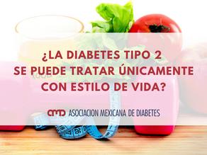 ¿La diabetes tipo 2 se puede tratar únicamente con estilo de vida?