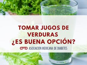 TOMAR JUGOS DE VERDURAS ¿ES BUENA OPCIÓN?
