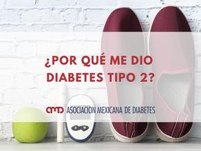 ¿Por qué me dio diabetes tipo 2?