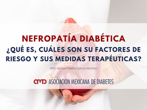 Nefropatía diabética ¿Qué es?