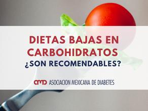 Dietas bajas en carbohidratos ¿Son recomendables?