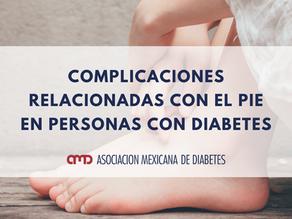 Complicaciones relacionadas con el pie en personas con diabetes