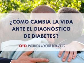 ¿Cómo cambia la vida ante el diagnóstico de diabetes?