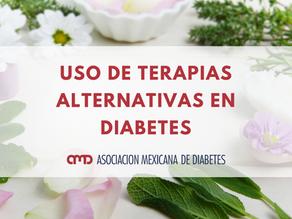 USO DE TERAPIAS ALTERNATIVAS EN DIABETES