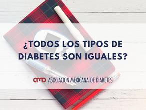 ¿Todos los tipos de diabetes son iguales?