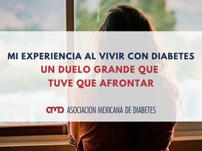 Mi experiencia al vivir con diabetes, un duelo grande que tuve que afrontar