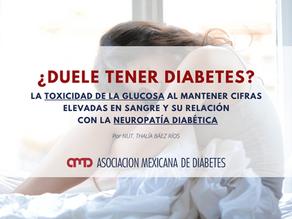 ¿Duele tener diabetes?