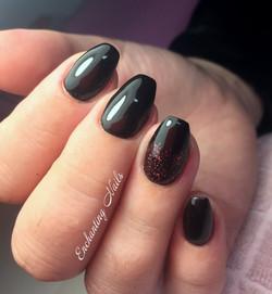 zwart - glitter
