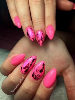 Roze - folie
