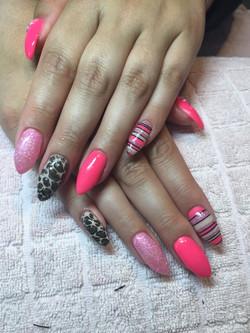 roze - luipaard