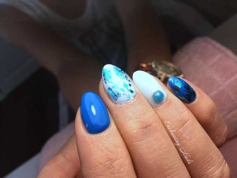 blauw - folie
