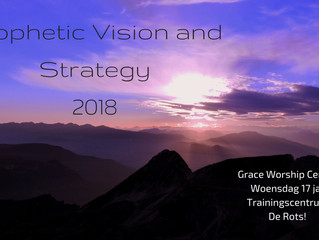 Prophetic Vision and Strategy 2018
