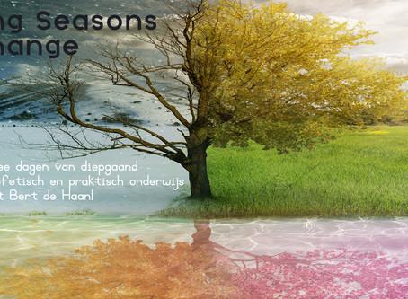 Facing Seasons of Change met Bert de Haan!