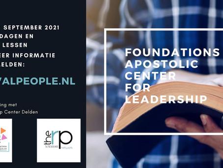 FOUNDATIONS APOSTOLIC CENTER FOR LEADERSHIP