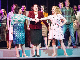 Singing dancing and acting 9 to 5: This show is HAPPENING